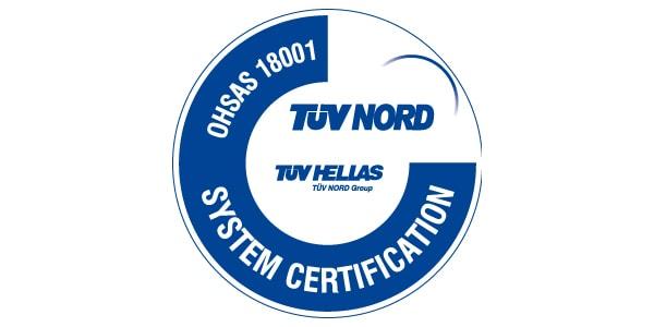 Σύστημα Διαχείρισης της Υγείας & της Ασφάλειας στην Εργασία OHSAS 18001:2007
